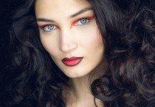 Look Rebekka Ruetz Lidschatten Lippen