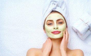 Gesichtsmaske Gesicht Pflege