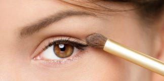 Braune Augen Schminken Tipps Profi Lidschatten