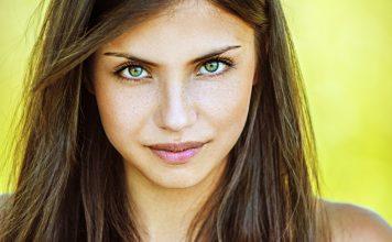 Grüne Augen Schminken Tipps Anleitung Betonen