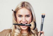 Make up Pinsel Welchen Verwendung Schminken