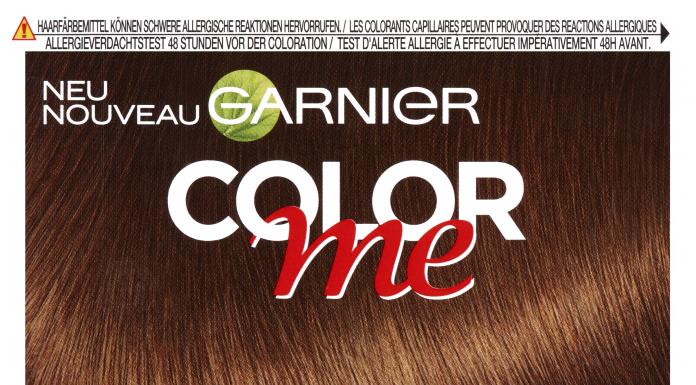 COLOR ME Neuheit Garnier Haarfarbe