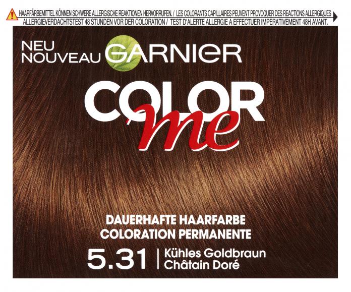 Garnier haarfarbe app