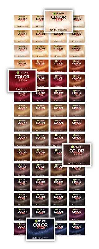 garnier color me haarfarbe corporel das kosmetik magazin. Black Bedroom Furniture Sets. Home Design Ideas