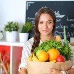 Einkauf Lebensmittel Lagern Keller Kühlschrank Vitamine Frisch