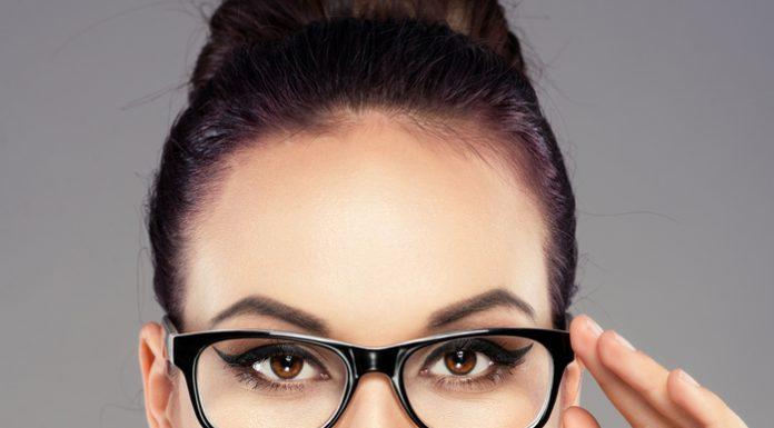 Brillentyp Gesicht Brille