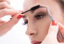 Augenbrauen - Zupfen und Färben